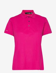 Piqué Golf Polo Shirt - koszulki polo - aruba pink