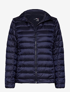 Down-Filled Packable Golf Jacket - down jackets - french navy