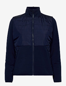 Hybrid Golf Jacket - golf jackets - french navy