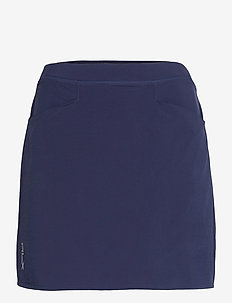 "4 WAY STRETCH-17"" PLEATED AIM SKRT - rokjes - french navy"