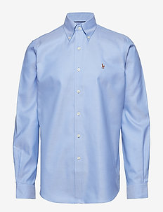 COTTON OXFORD SPORT SHIRT - LIGHT BLUE