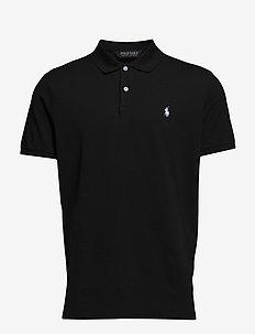 Custom Slim Fit Golf Polo - RL  BLACK