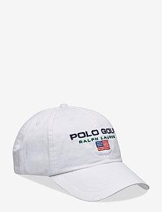 Cotton Twill Golf Cap - PURE WHITE