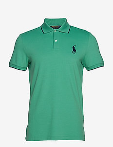 Custom Slim Performance Polo - RAFT GREEN