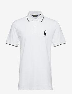 Custom Slim Performance Polo - WHITE