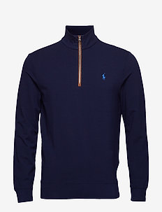 Slim Fit French Terry Pullover - FRENCH NAVY