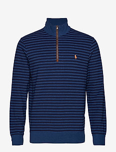 LS HZ SF M2-LONG SLEEVE-KNIT - SHALE BLUE HEATHE