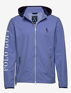 Packable Golf Jacket - BLUE MIST