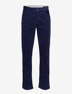 Tailored Fit Corduroy Pant - FRENCH NAVY