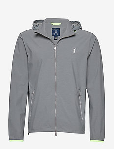 Packable Golf Jacket - BOULDER GREY HEAT