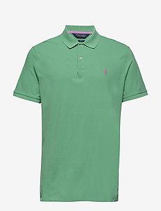 Custom Slim Fit Stretch Polo - HAVEN GREEN
