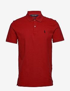 Custom Slim Fit Stretch Polo - koszulki polo - rl 2000 red