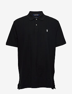 Custom Slim Fit Stretch Polo - kortærmede - rl black