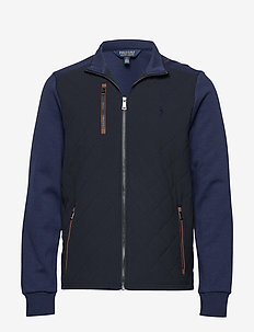 Hybrid Golf Jacket - FRENCH NAVY/FRENC