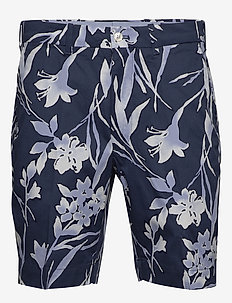 Tailored Fit Golf Short - INK FLORAL