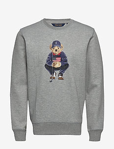 Golf Bear Sweatshirt - LT GREY HEATHER