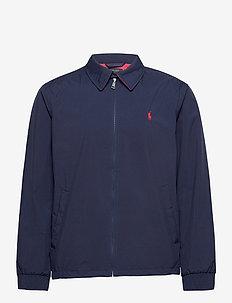 PERFRMNCE STRTCH 2L-BI-SWING JACKT - golf jackets - french navy