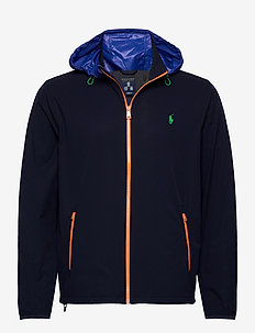 Packable Hooded Jacket - golfjakker - french navy