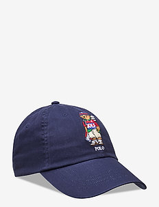 Golf Bear Cotton Cap - caps - french navy