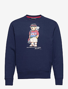 MAGIC FLEECE-LS CN BEAR - rund hals - french navy
