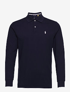 VISDRY STRETCH MESH-LS KC PRO FIT P - polo's - french navy