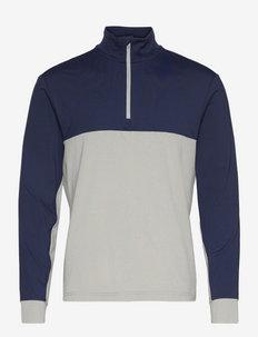 Classic Fit Performance Jersey Pullover - Överdelar - french navy/lt gr