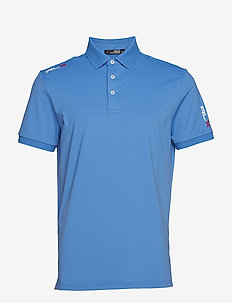 Active Fit Performance Polo - NEW ENGLAND BLUE