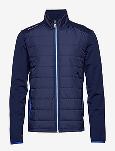 Stretch Wool Golf Jacket - FRENCH NAVY
