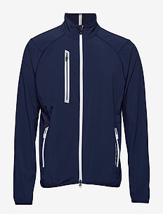 Packable Windbreaker - FRENCH NAVY/WHITE
