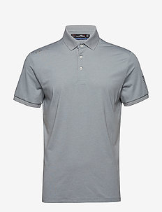 Custom Slim Performance Polo - ANDOVER HEATHER