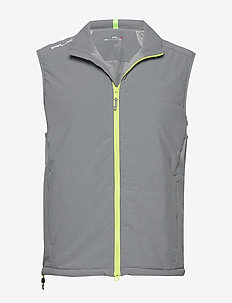 Water-Repellent Golf Vest - boulder grey heat