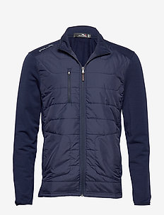 Stretch Terry Golf Jacket - FRENCH NAVY