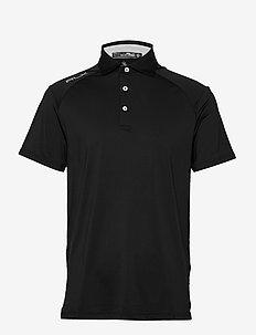 Custom Slim Performance Polo - À manches courtes - polo black