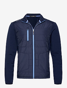 Ripstop-Panel Terry Jacket - vestes de golf - french navy