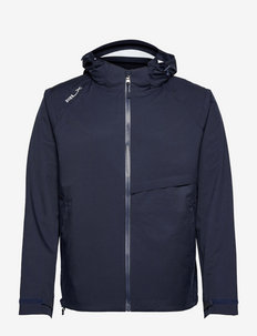 Water-Repellent Hooded Jacket - golf jassen - french navy