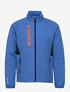 STRETCH DWR-PAR WINDBREAKER - golf jackets - colby blue