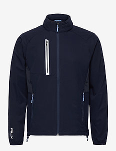 STRETCH DWR-PAR WINDBREAKER - golfjakker - french navy