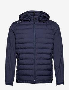 Packable Water-Repellent Jacket - golf jassen - french navy