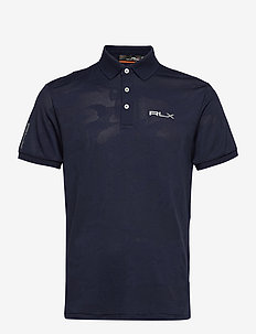 CAMO JACQUARD-SS KC PF - polo's - french navy camo
