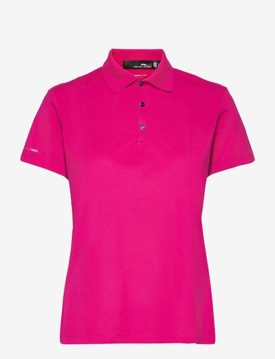 Piqué Golf Polo Shirt - poloshirts - aruba pink