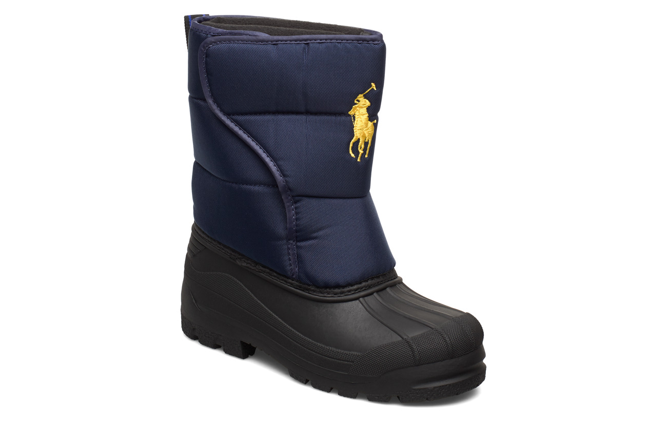 Ralph Lauren Kids HAMILTEN II EZ - NAVY NYLON W/YELLOW PP