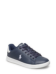 QUILTON - NAVY LEATHER W WHITE PP