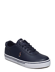 HANFORD - NAVY LEATHER W MULTI PP