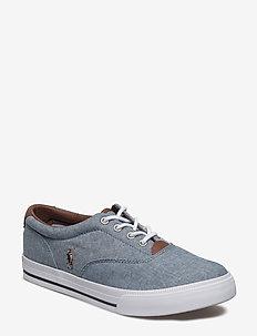 VAUGHN II - sneakers - blue chambray w/multi pp