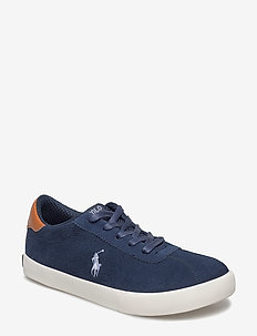 HADLEY - sneakers - navy suede w/white pp