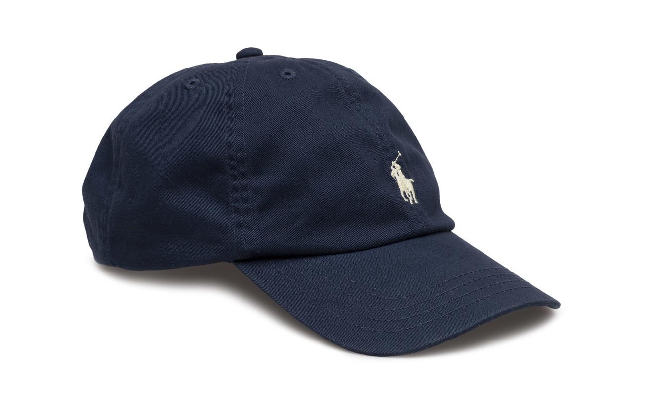 Ralph Lauren Kids Cotton Chino Baseball Cap - NEWPORT NAVY
