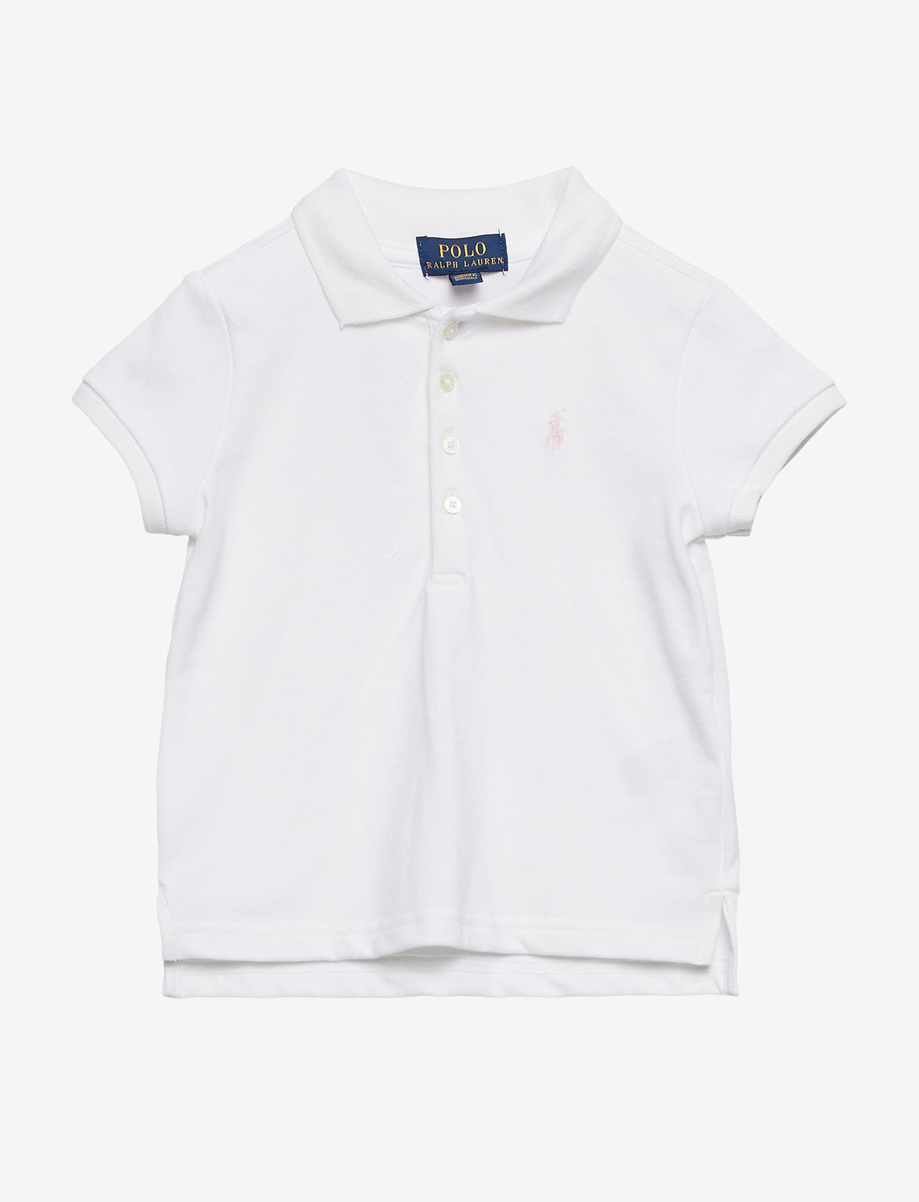 Ralph Lauren Kids - Cotton Polo Shirt - polo shirts - white - 0