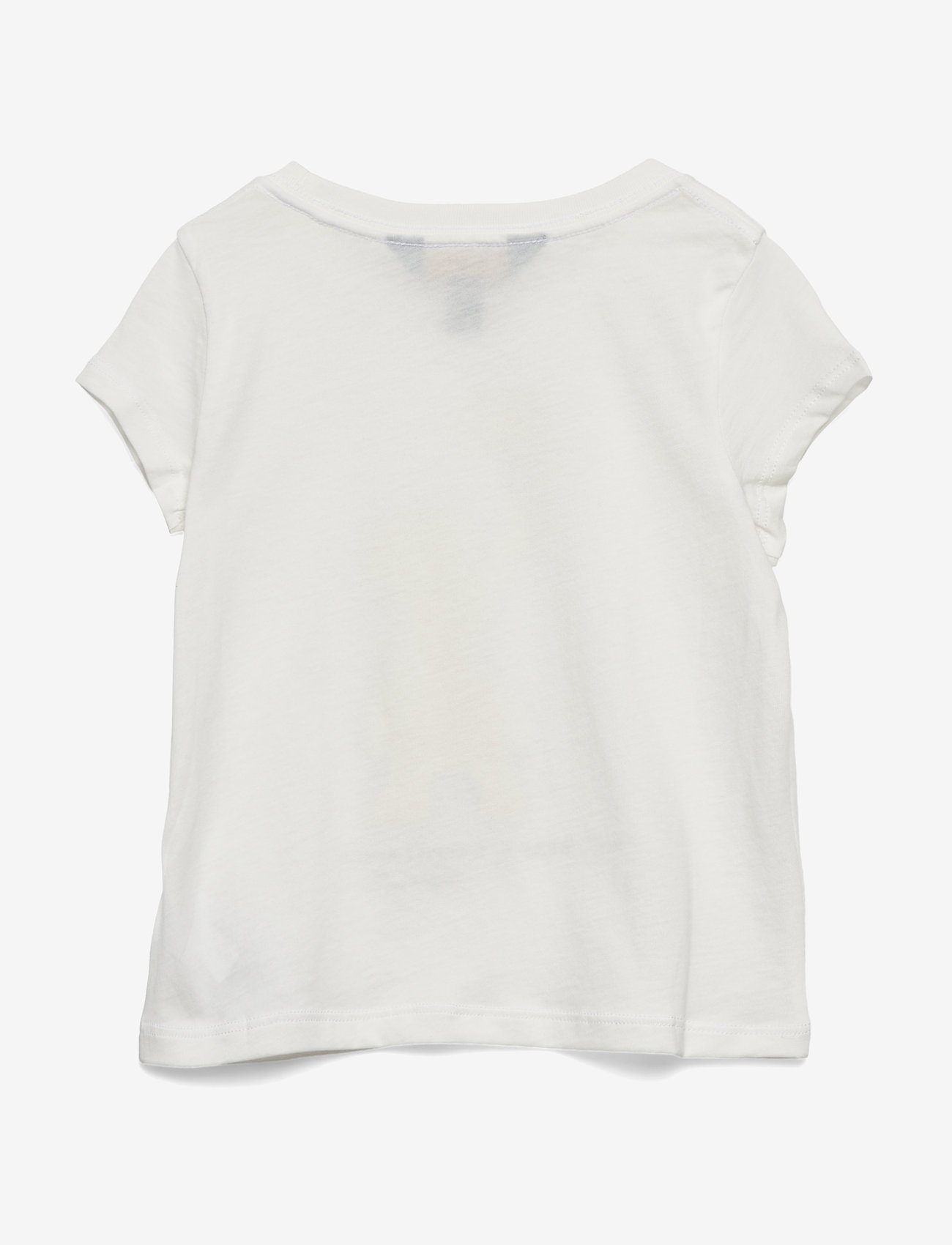Ralph Lauren Kids - Sparkler Bear Cotton Tee - short-sleeved - deckwash white - 1