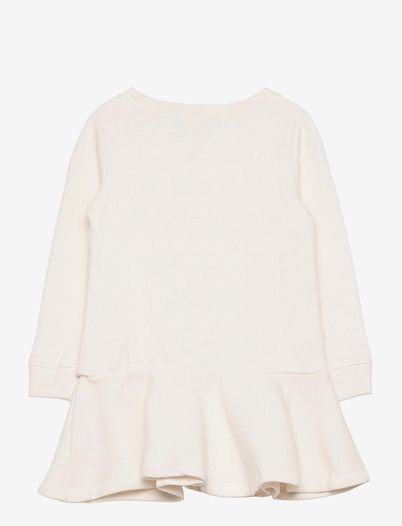 Ralph Lauren Kids - Polo Bear Cotton Fleece Dress - dresses - nevis - 1