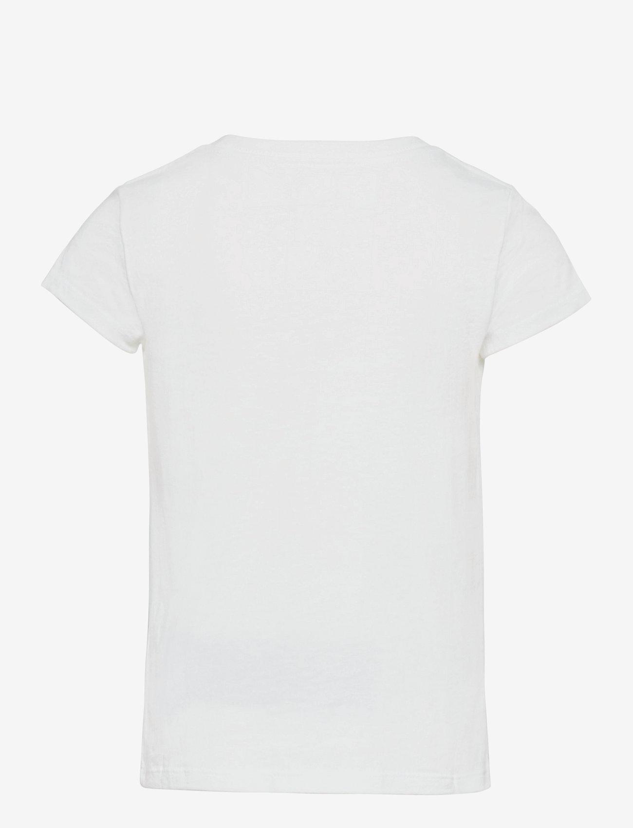 Ralph Lauren Kids - Polo Bear Cotton Jersey Tee - short-sleeved - white - 1
